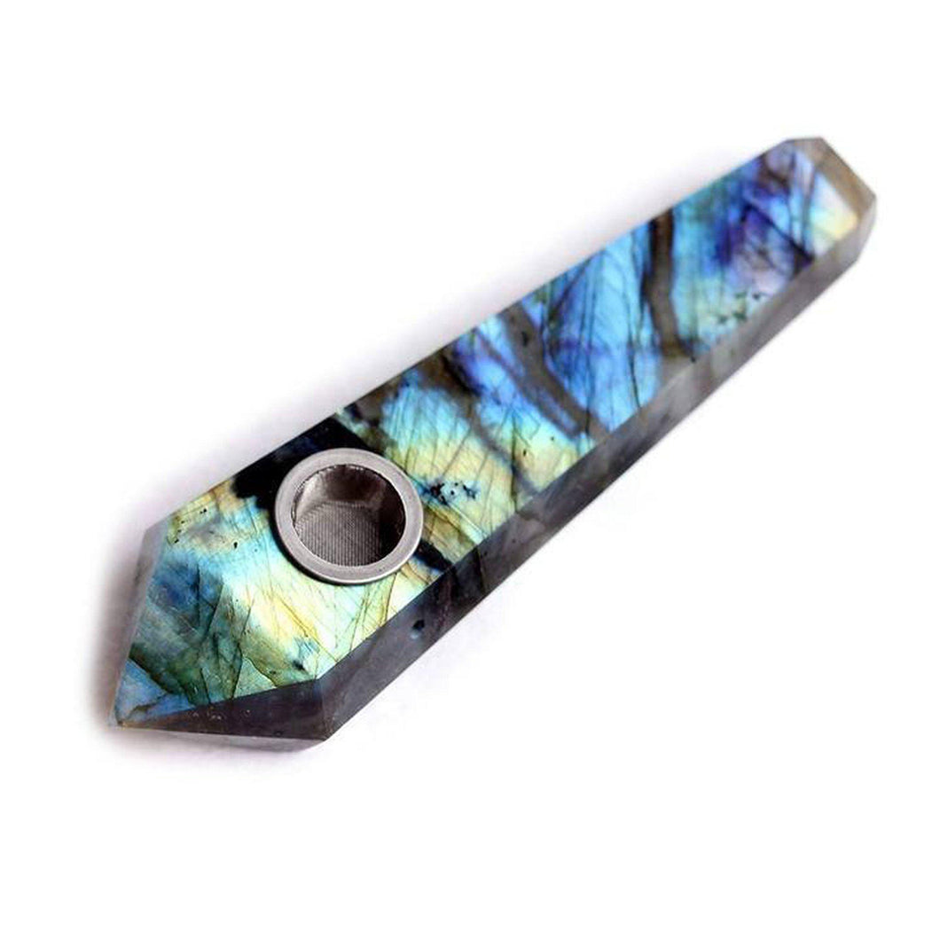 Labradorite Crystal Pipe-Luxury Lifted