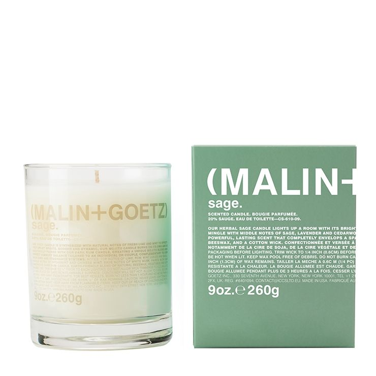 Malin and Goetz Sage Candle--Luxury Lifted