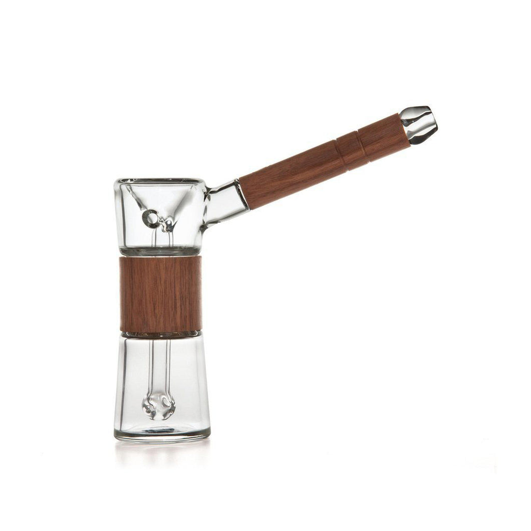 Marley Natural Black Walnut Bubbler-Luxury Lifted