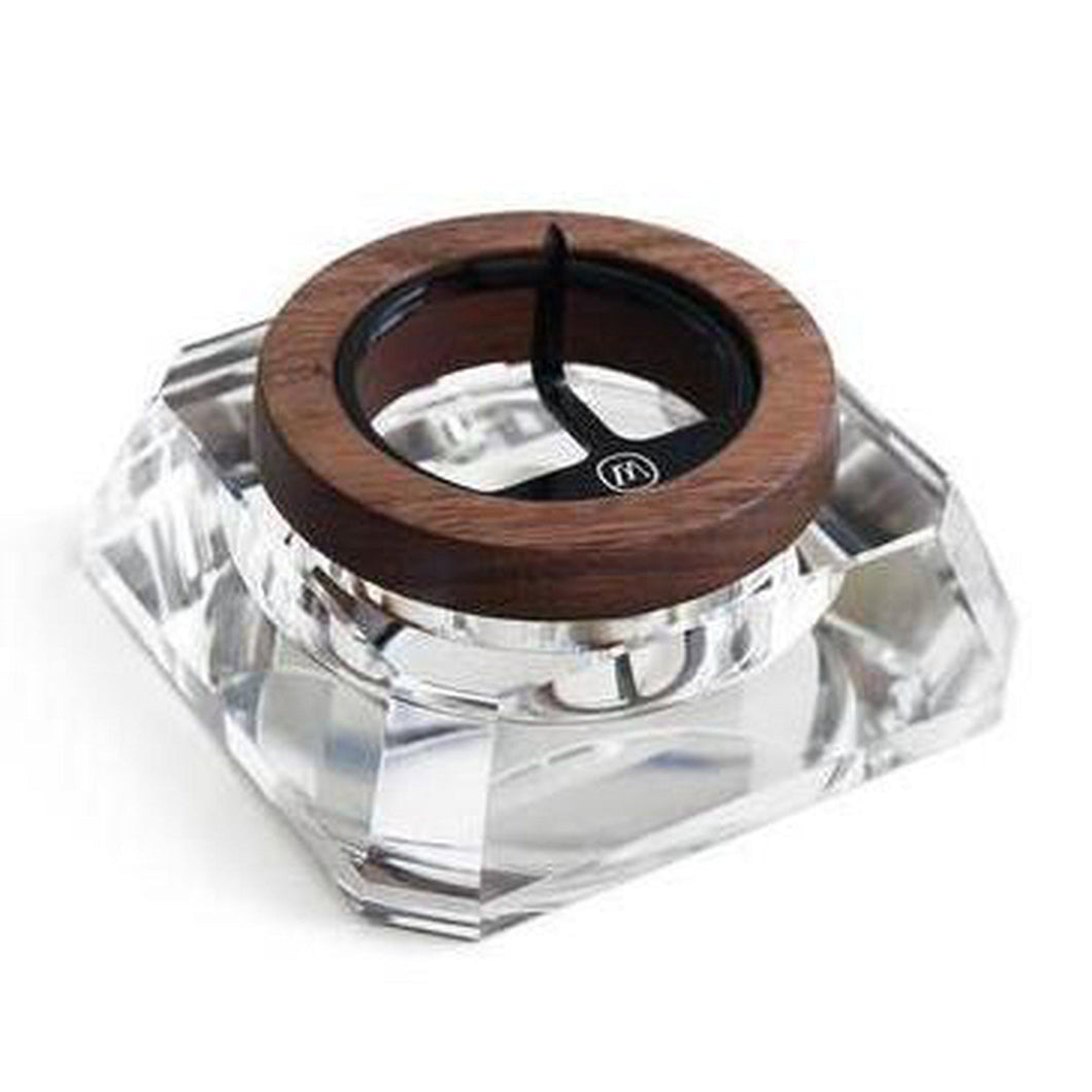 Marley Natural Crystal Ashtray-Luxury Lifted