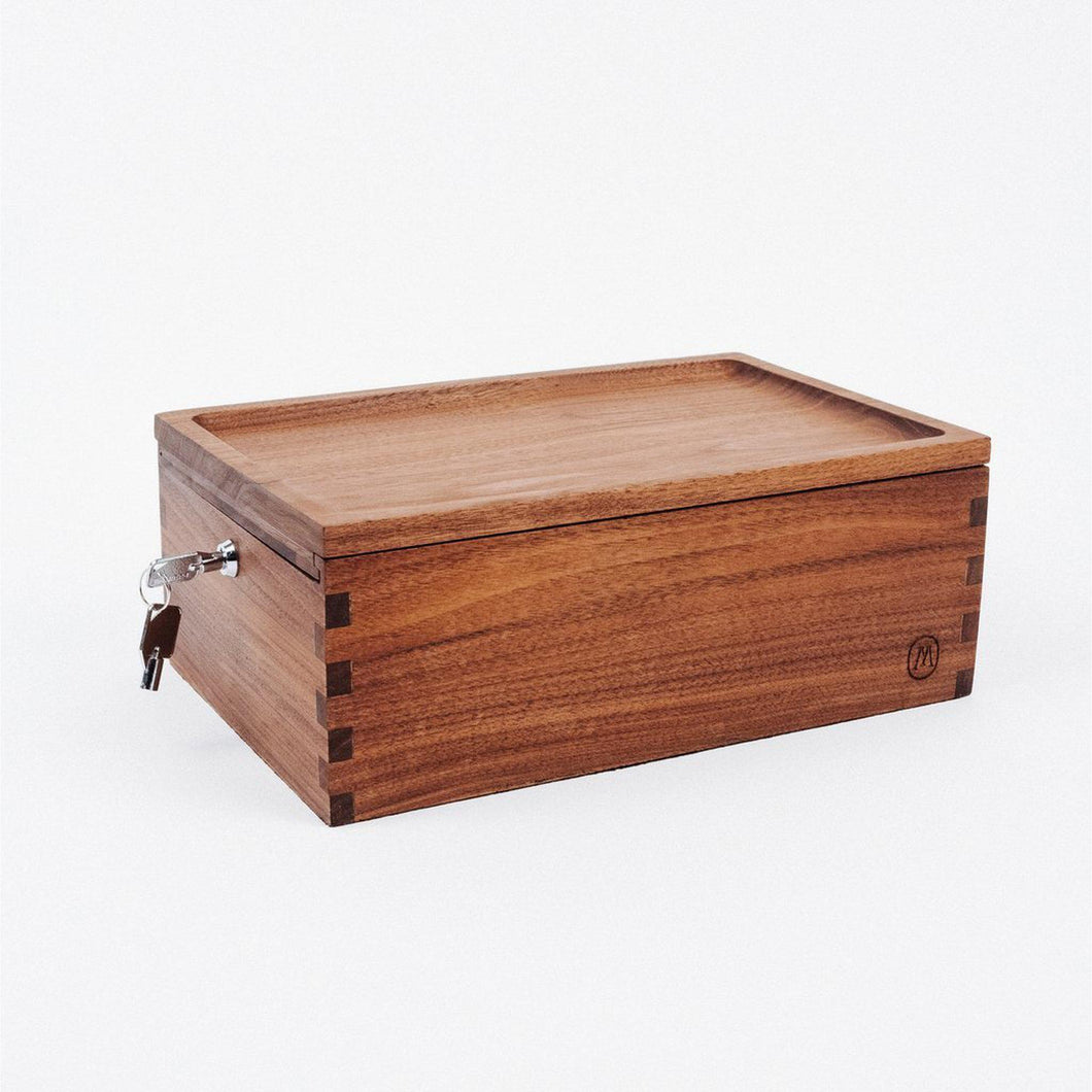 Marley Natural Storage Lock Box-Luxury Lifted