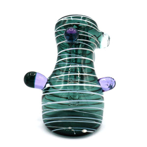 Mummy Wrap Hammer Bubbler Green