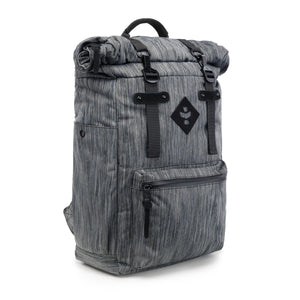 Revelry The Drifter Rolltop Backpack Striped Dark Grey-backpack-Luxury Lifted