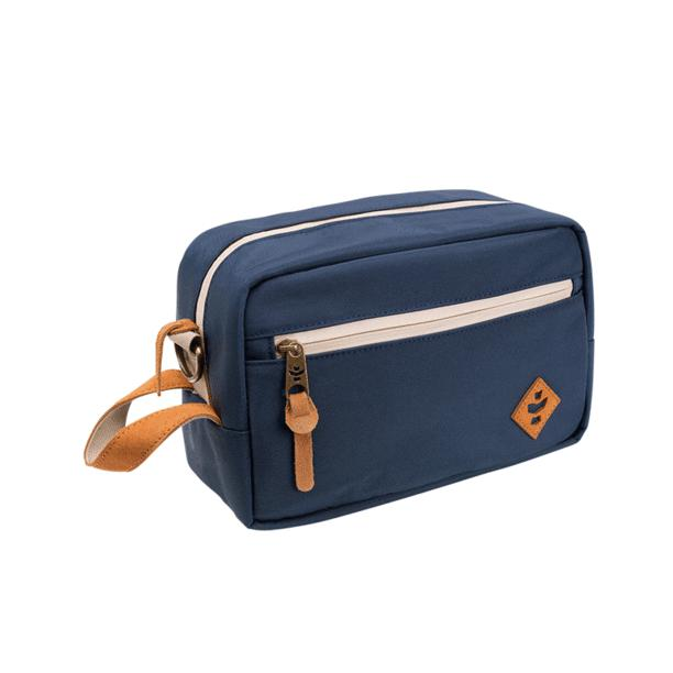 Revelry The Stowaway Toiletry Kit Navy Blue-storage-Luxury Lifted