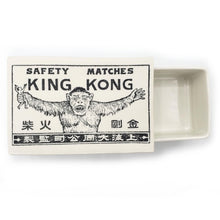 Load image into Gallery viewer, Vintage Printed Ceramic Matchbox - King Kong--Luxury Lifted