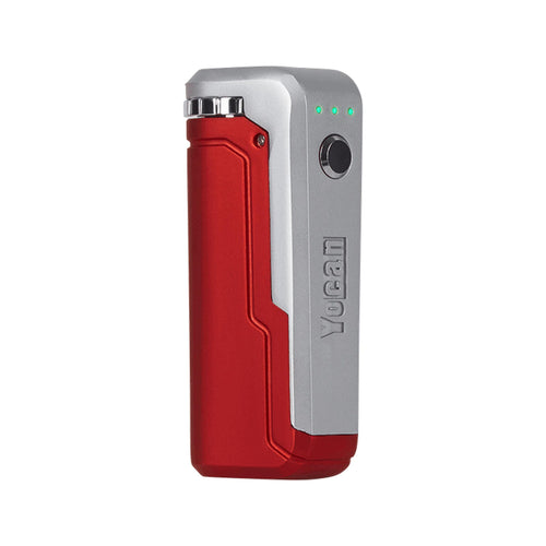 Yocan UNI Box Mod Vaporizer-red w/ silver-Luxury Lifted