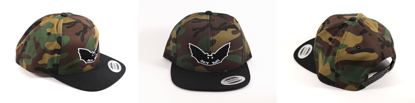 Sam Bat Camo Snap Back