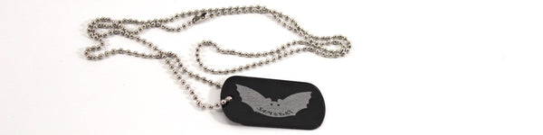 Sam Bat Dog Tag