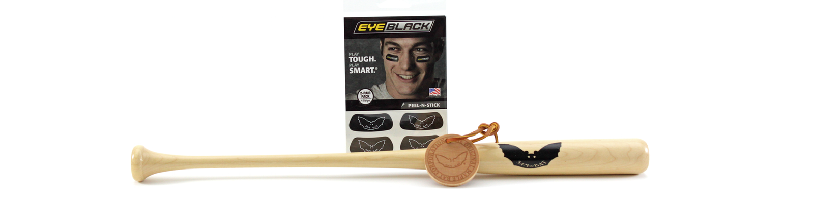 Sam Bat Gift Pack- Mini Bat/Bag Tag/Eye Black