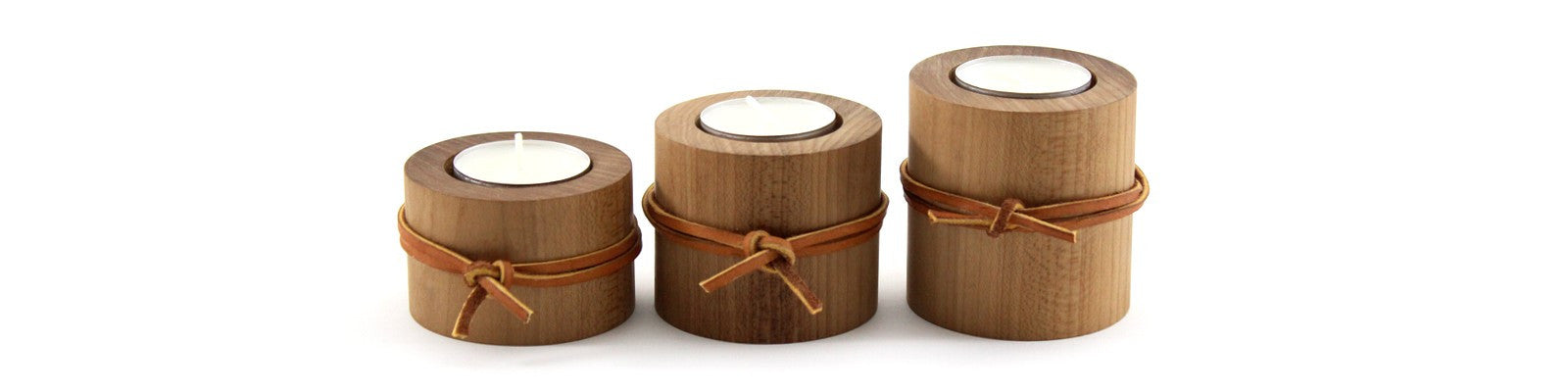 3-Piece Tea Light Candle Holders