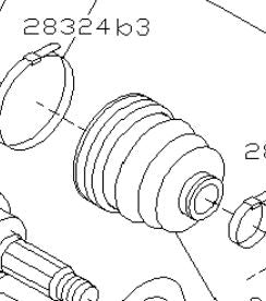 Boot - Drive Shaft
