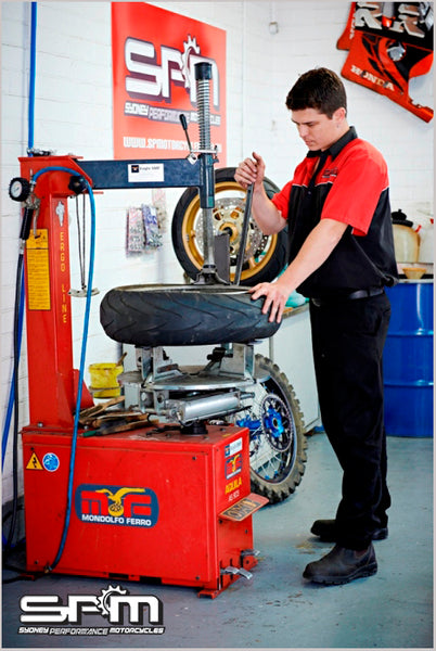 Motorcycle Tyre Fitting Caringbah