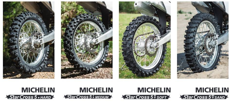 Michelin Starcross Motocross tyres