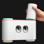Automatic Toothpaste Dispenser & Toothbrush Holder - GamechangerKing