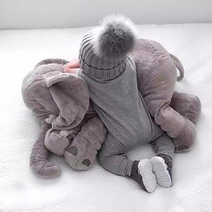 Lovely Soft Stuffed XXL Elephant Pillow - GamechangerKing