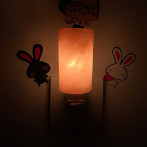 Hand Carved Natural Crystal Himalayan Salt Night Light - GamechangerKing