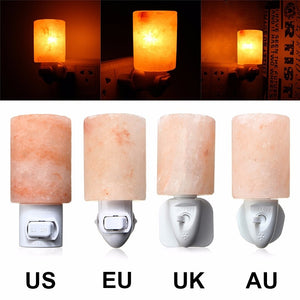 Mini Himalayan Salt Night Light Cylinder - GamechangerKing