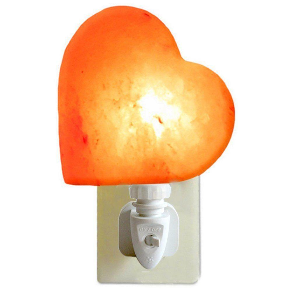 Himalayan Natural Heart Night Light - GamechangerKing