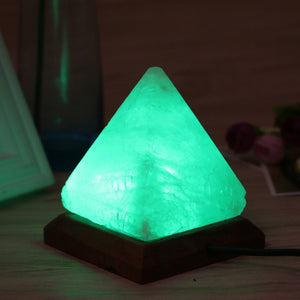 Triangle Hand Carved Himalayan Salt Lamp - GamechangerKing