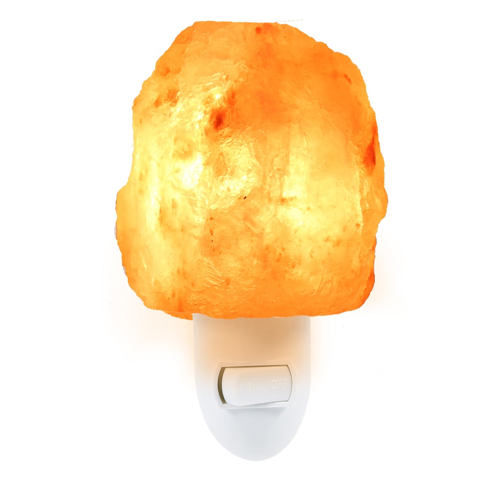 Natural Shaped Salt Rock Night Light - GamechangerKing