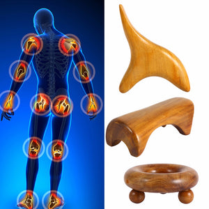 Thai Massage Therapy - Reflexology Wood Body Foot - GamechangerKing
