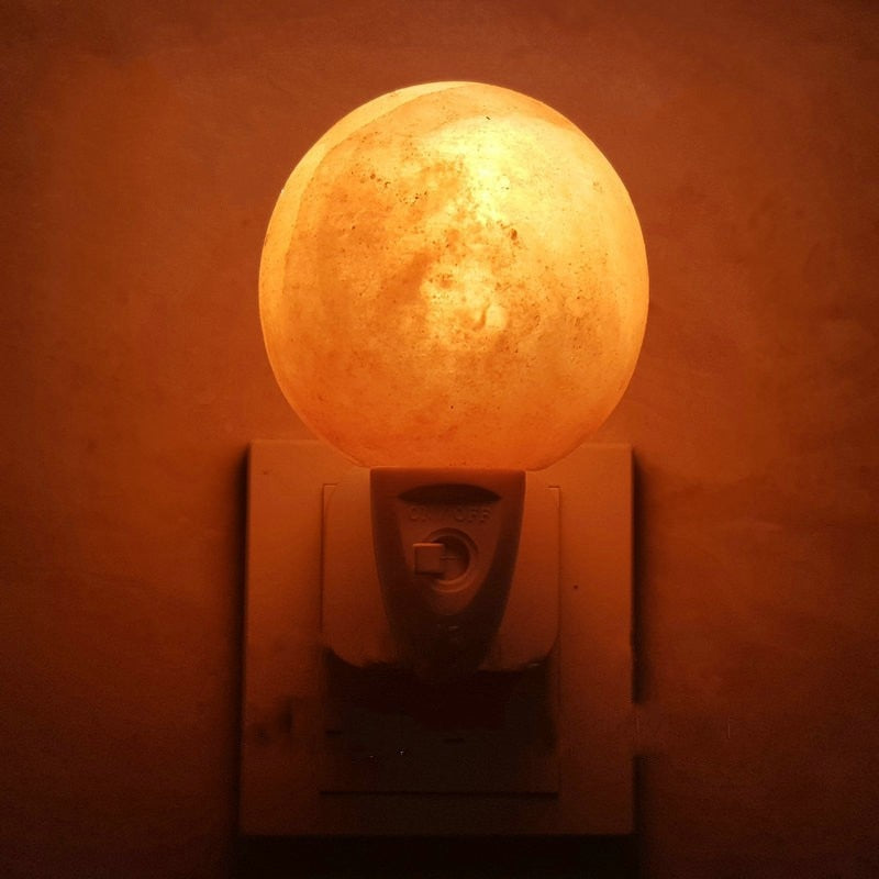 Himalayan Salt Lamp Night Light GLOBE - GamechangerKing