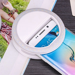 Universal Selfie Mobile Phone LED Flash Light Ring - GamechangerKing