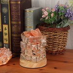 Himalayan Salt Rock in Crystal Basket with Dimmer - GamechangerKing