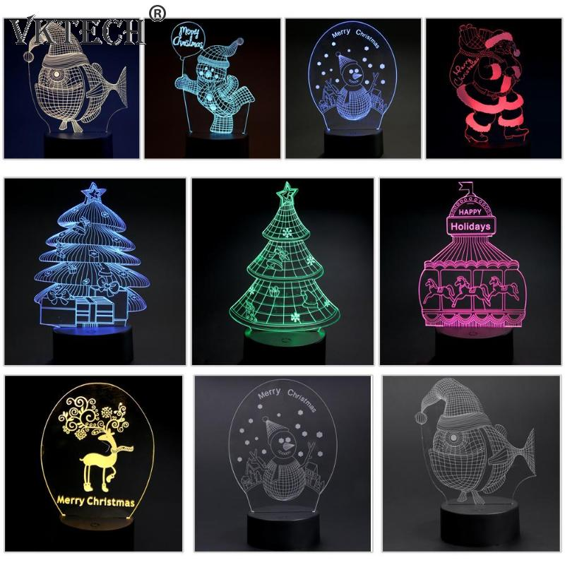 3D Visual Light LED - Christmas Decorations - GamechangerKing