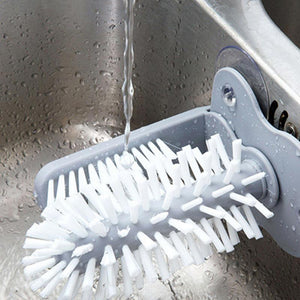 Double Cup Glass Cleaning Brush with Suction - GamechangerKing