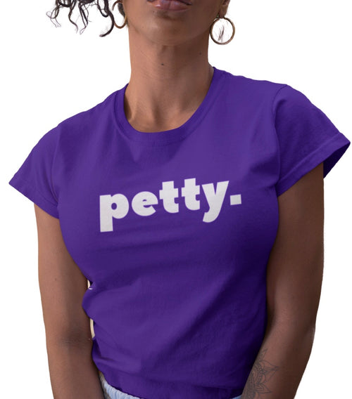 PETTY. PURPLE TEE