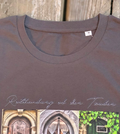 Rothenburger Türen-Shirt Kragen