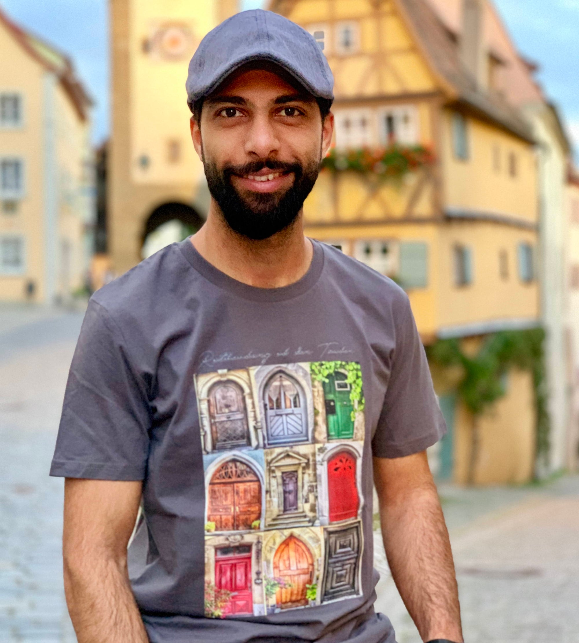 Rothenburger Türen-Shirt - am Plönlein