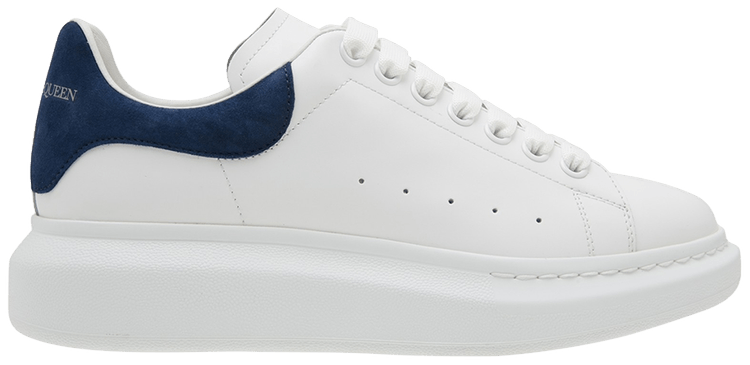 oversized sneaker 'White Paris Bleu'