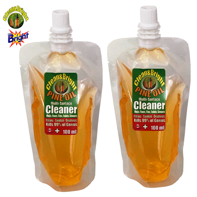 Clean&Bright 100ml Concentrated pine oil floor cleaner