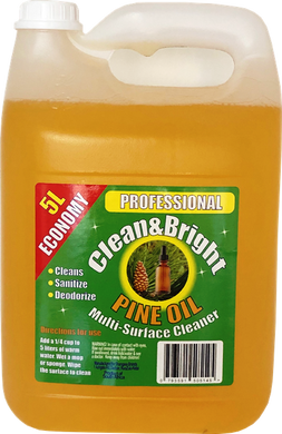 Clean&Bright 5l Concentrated pine oil floor cleaner