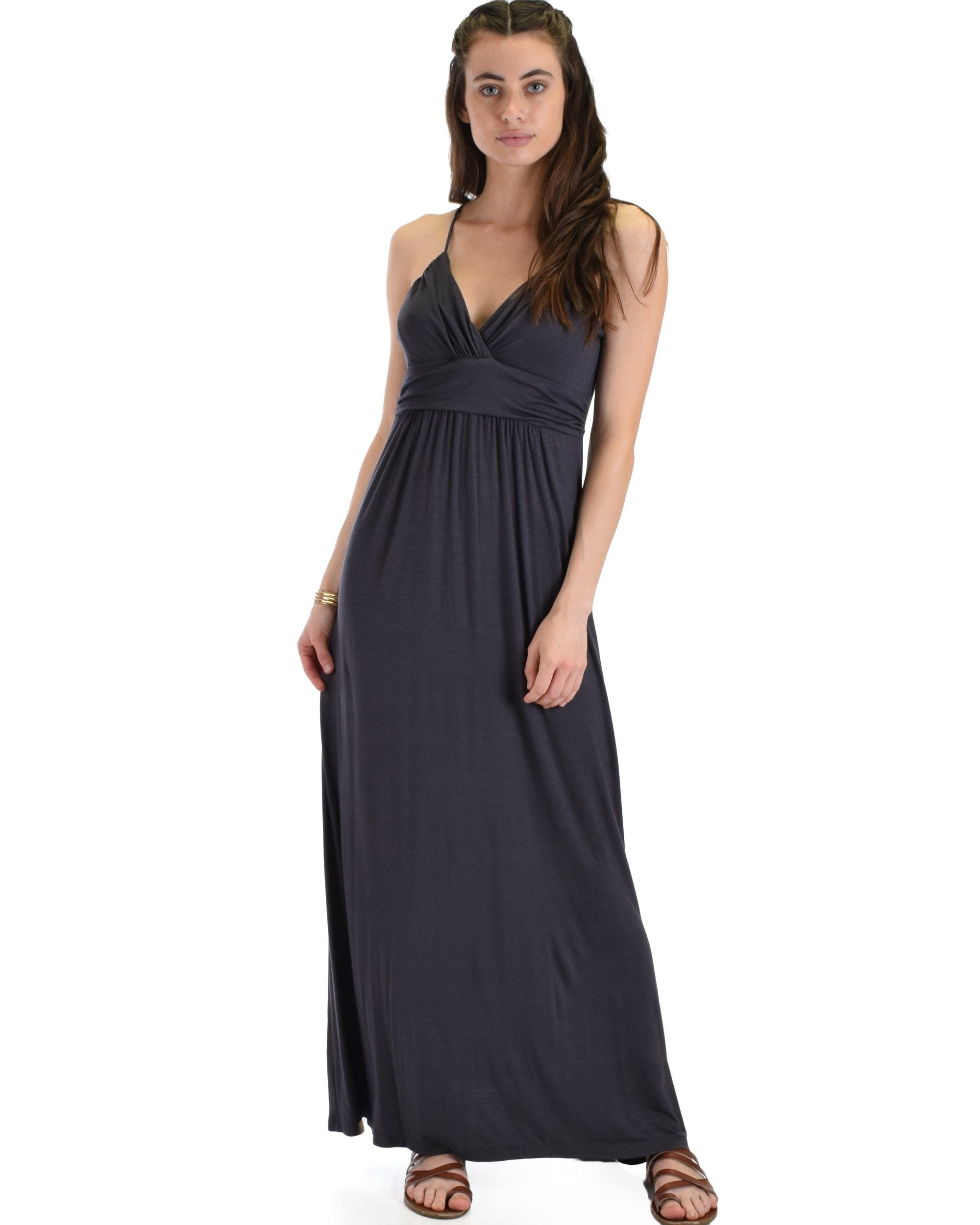 Wanderlust Sweetheart Shift Maxi Dress