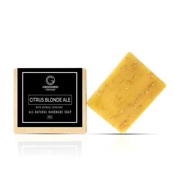citrus beer natural soap