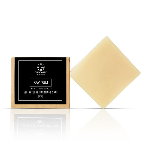 men's natural soap bay rum soap