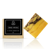 orange patchouli natural soap