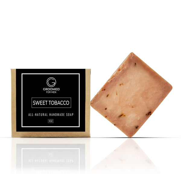 sweet tobacco natural soap