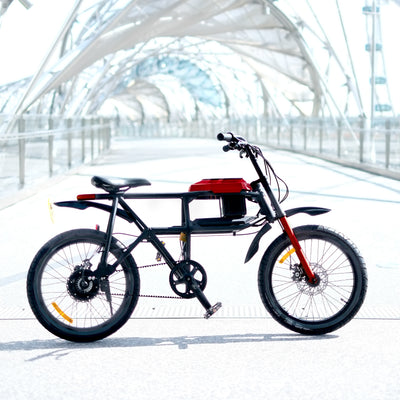Crimson Red DV-X Urban Ebike (250W)