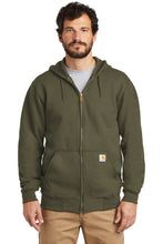 Load image into Gallery viewer, CTK122 - Carhartt ® Midweight Hooded Zip-Front Sweatshirt