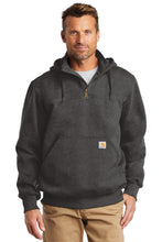 Load image into Gallery viewer, CT100617 Carhartt ® Rain Defender ® Paxton Heavyweight Hooded Zip Mock Sweatshirt