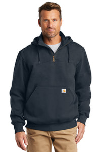 CT100617 Carhartt ® Rain Defender ® Paxton Heavyweight Hooded Zip Mock Sweatshirt