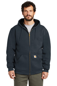 CT100632 - Carhartt ® Rain Defender ® Rutland Thermal-Lined Hooded Zip-Front Sweatshirt