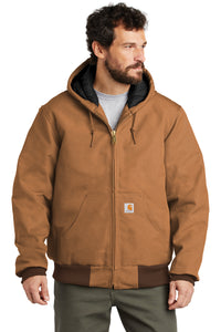 CTSJ140 - Carhartt ® Quilted-Flannel-Lined Duck Active Jac