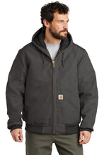 Load image into Gallery viewer, CTSJ140 - Carhartt ® Quilted-Flannel-Lined Duck Active Jac