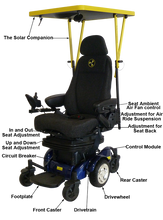 Load image into Gallery viewer, Liberator Solar Assisted Power Chair
