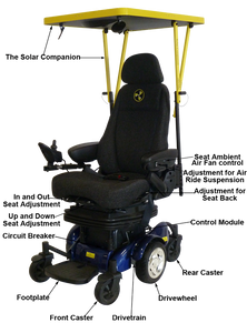 Liberator Solar Assisted Power Chair